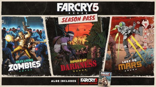Ubisoft svela i contenuti del Season Pass di Far Cry 5