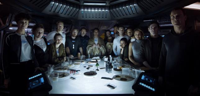 L'equipaggio di Alien: Covenant