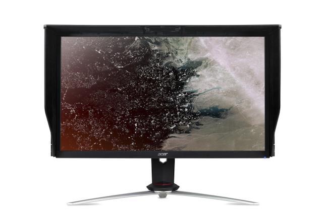 Il nuovo monitor di Acer da 27 pollici pensato per un'immersiva esperienza gaming