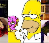 La torta di Twin Peaks, la ciambella di Homer e la pizza di Joey