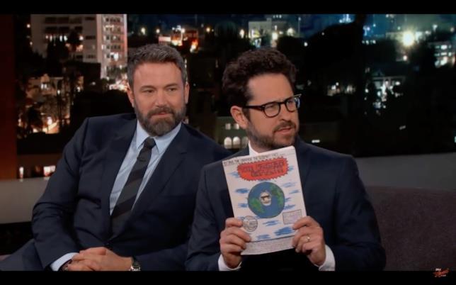 J.J. Abrams e Ben Affleck ospiti del Jimmy Kimmel live!