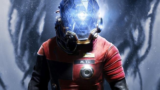 Il protagonista di Prey sulla cover ufficiale del gioco