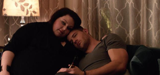 This Is Us: Kate (Chrissy Metz) e il gemello Kevin (Justin Hartley)
