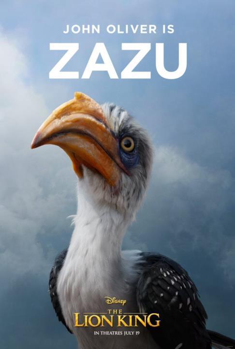 character poster di Zazu