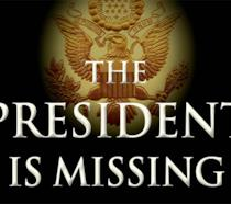 Copertina americana di The President Is Missing