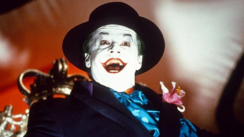 Jack Nicholson nei panni di Joker in Batman (1989)