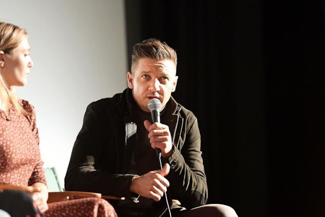 Jeremy Renner interprete di Occhio di Falco