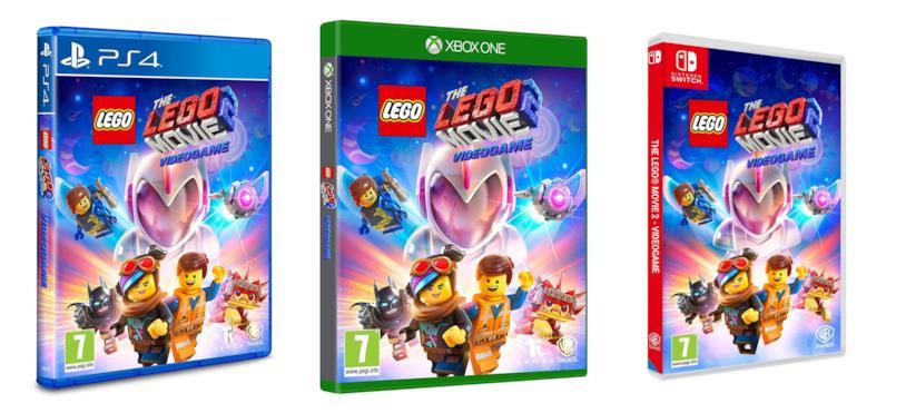 Le versioni per console di TheLEGOMovie 2 Videogame