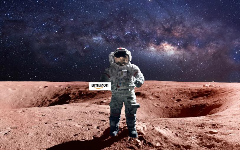 La fake news del nuovo quartier generale di Amazon sul pianeta Marte