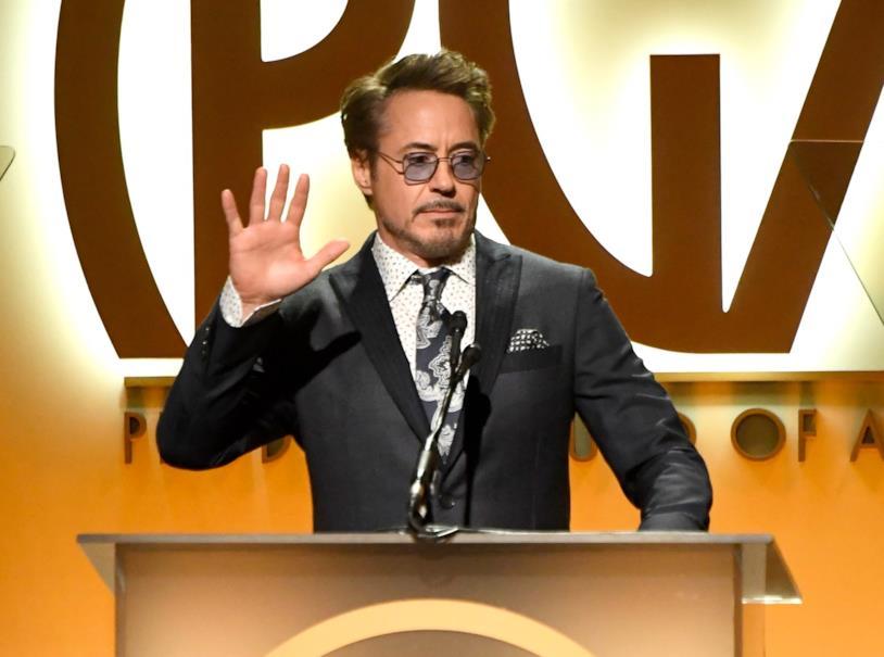 L'affascinante e popolare Robert Downey Jr.