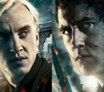 Draco Malfoy e Neville Longbottom nei poster di HP8