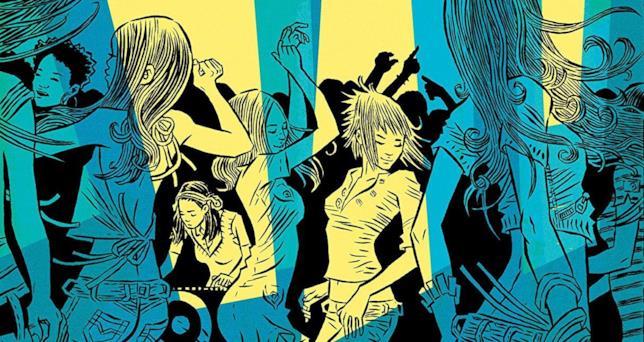 Tabitha e Dawn ballano in un club