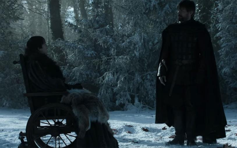 Bran e Jaime a Grande Inverno