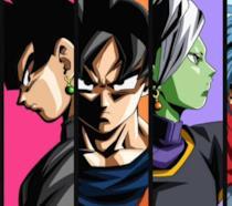 Alcuni dei personaggi di Dragon Ball Super