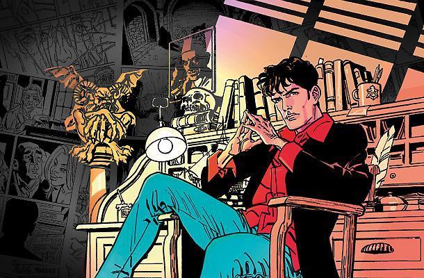 Un estratto dal fumetto horror di Dylan Dog