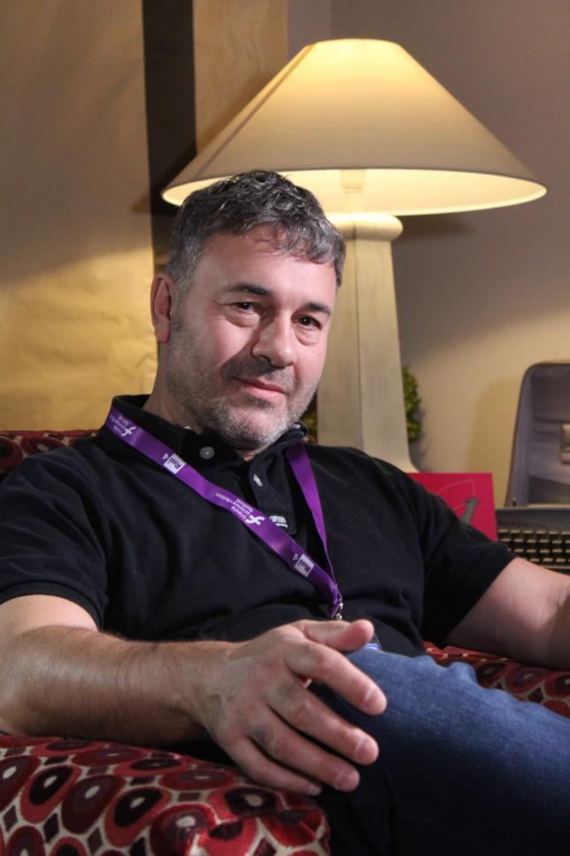 Lo scrittore Richard Morgan