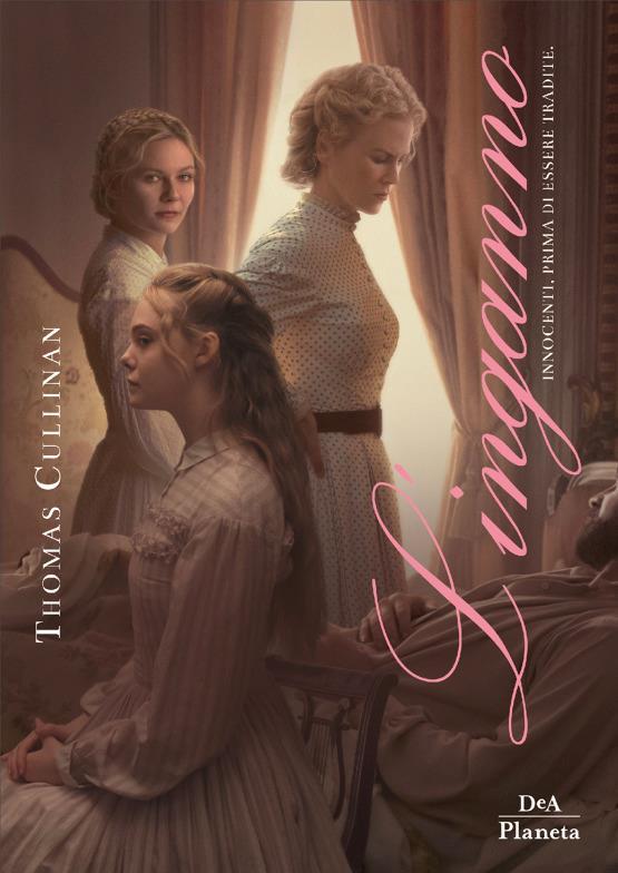 La copertina movie tie-in di L'Inganno