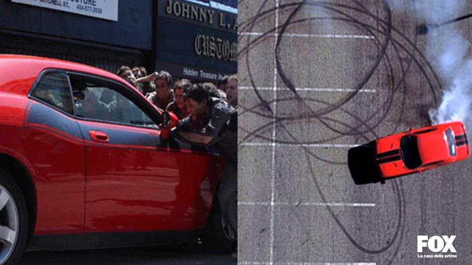 La macchina che usa Glen nella prima stagione è un easter egg di Breaking Bad.