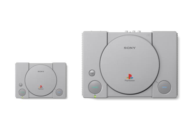 PS1 confrontata con Ps Classic