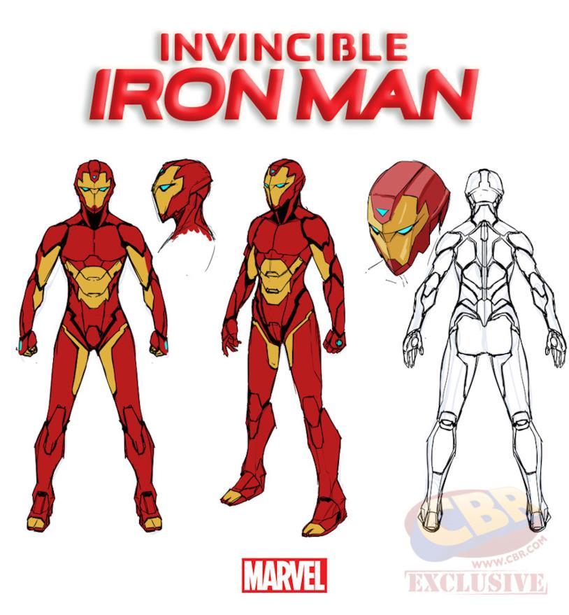 Invincible Iron Man: l'armatura di Riri Williams