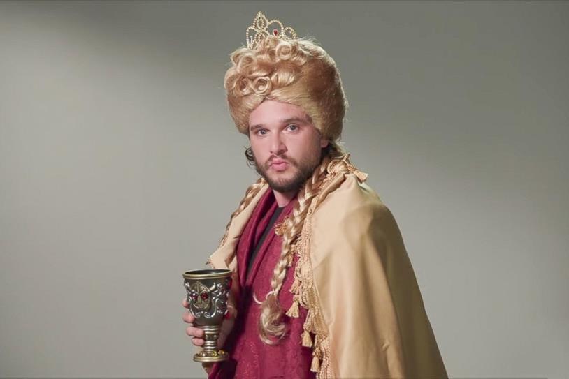 Kit Harington nei panni di Cersei