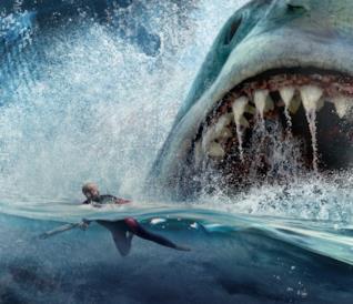Il poster ufficiale di Shark - Il primo squalo