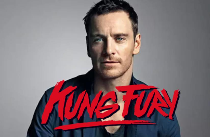 Michael Fassbender in Kung Fury