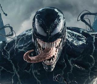 Poster di Venom del 2018