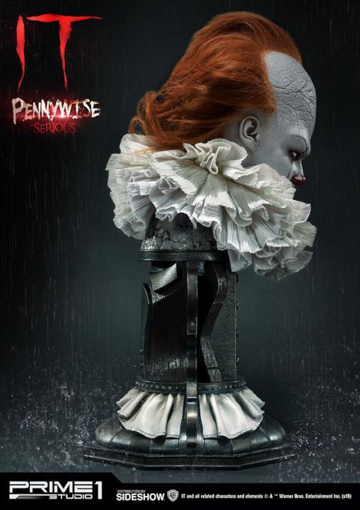 Pennywise serio profilo destro