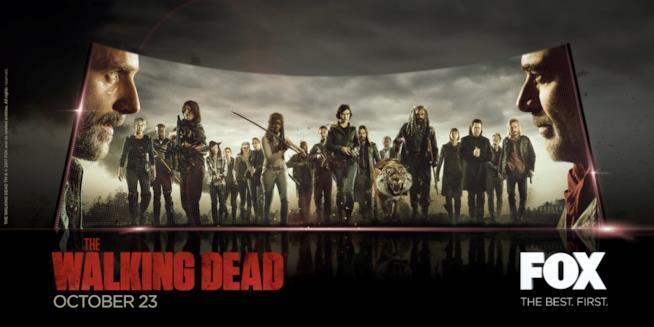 The Walking Dead 8: il poster ufficiale presentato al Comic-Con