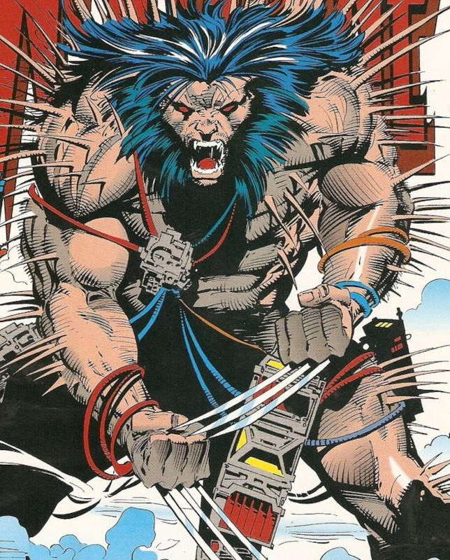 Figura intera Wolverine