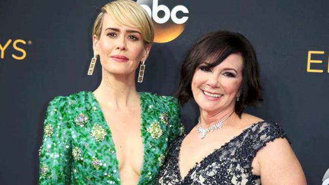 Sarah Paulson e Marcia Clark agli Emmy Awards