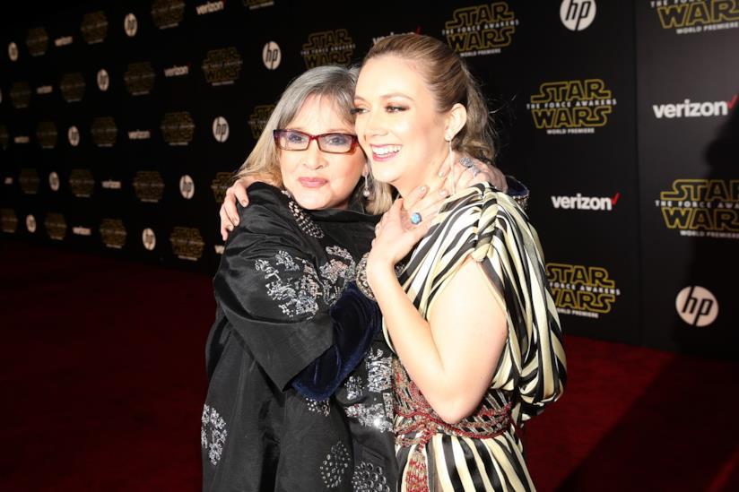 Billie Lourd ricorda la madre Carrie Fisher con un toccante video tributo