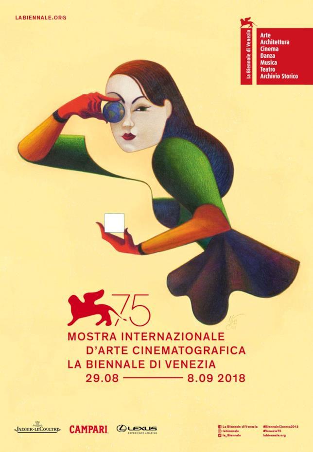 Il poster ufficiale della 75esima edizione