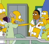 Una scena di Chi ha sparato al Signor Burns?