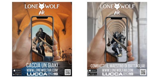 Lone Wolf AR, gioco di ruolo sviluppato da VisionizAR