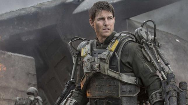 Tom Cruise, protagonista di  Edge Of Tomorrow