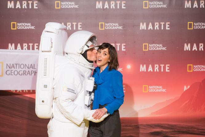 All'anteprima di Marte era possibile incontrare un astronauta