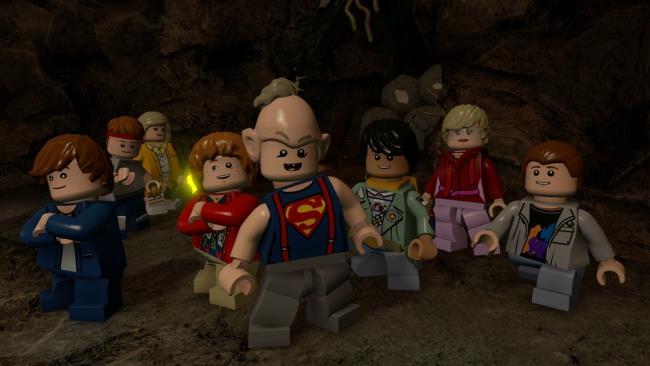 I protagonisti dei Goonies in versione LEGO