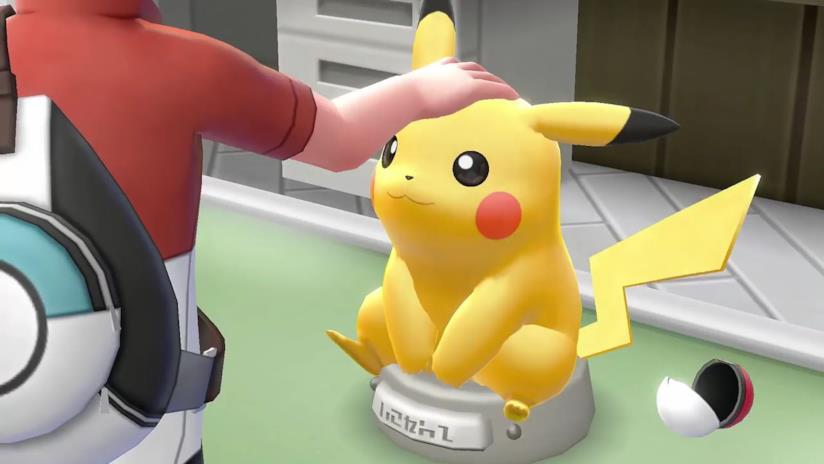 Pikachu ci accompagnerà su Switch con Pokemon Let's Go