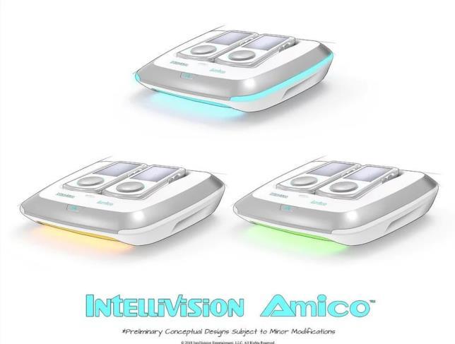 Il design delle luci di Amico