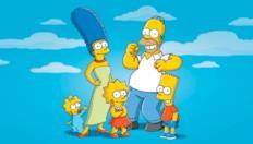 L'infuriato Abe Simpson e suo nipote...