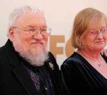 George R.R. Martin e sua moglie