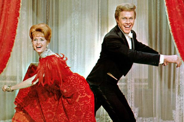 Debbie Reynolds e Harve Presnell interpretano Molly Brown e Johnny Brown