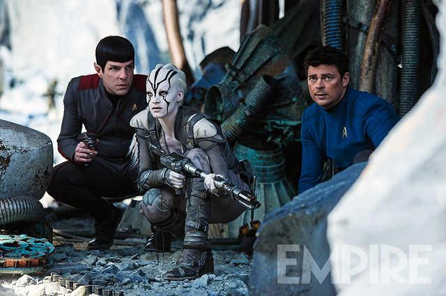 Rivelati nuovi personaggi dalle foto di Star Trek Beyond