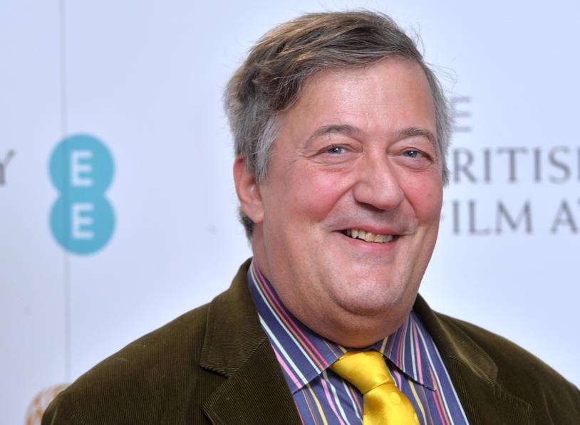 L'attore britannico Stephen Fry