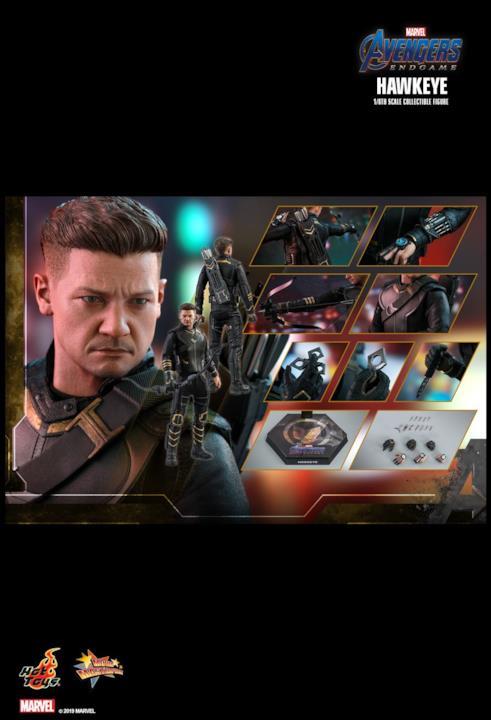 Clint Barton di Hot Toys per Avengers: Endgame