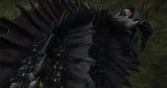 GoT 7: Jon incontra Drogon