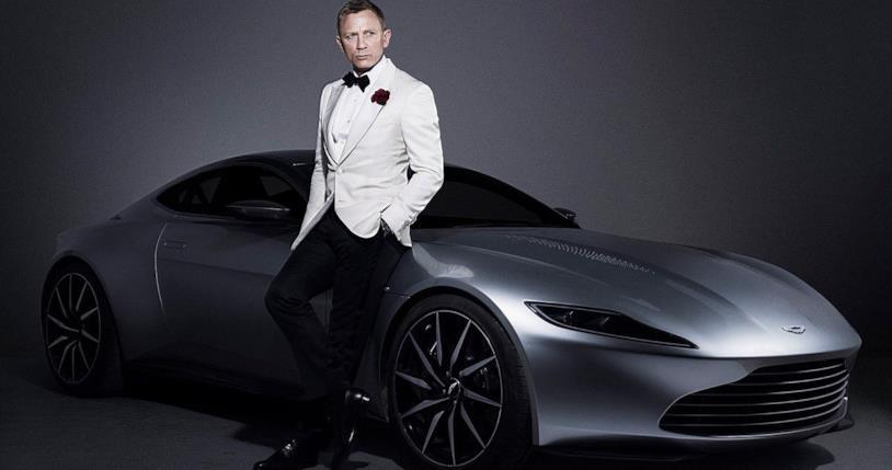 Daniel Craig nei panni di James Bond 007