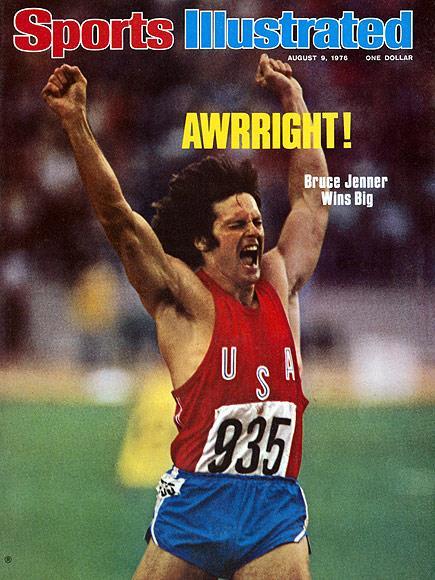Bruce Jenner su Sports Illustrated nel 1976